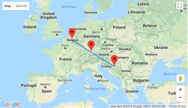 Map Of Germany Memmingen.Ryanair To Begin Flying To Bosnia And Herzegovina 2 Routes From