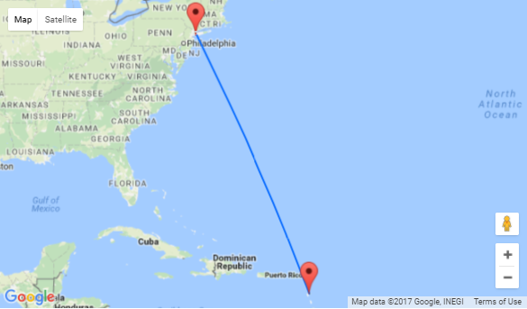 High season flights from New York to exotic Guadeloupe for only $80 one-way or $222 return!