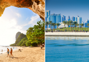 12 nights at 4* resort in Krabi + one night in Doha & Qatar Airways flights from Munich for only €594!