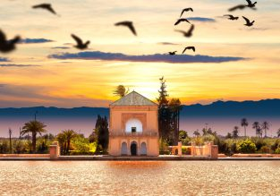 7-night B&B stay in top-rated riad in Marrakech + flights from Budapest for €136!