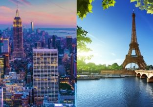 Cheap non-stop flights from Paris to New York and vice-versa from only €224/$306!