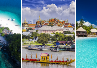 4 in 1: London to Fiji, Singapore, Phuket and Bangkok in one trip for £744!
