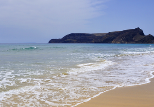 Summer! Cheap flights from London to the volcanic island of Porto Santo, Madeira for £77!