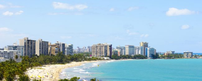 Cheap flights from US West Coast to San Juan, Puerto Rico from only $206!