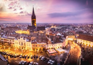 Cheap flights from many European cities to the heart of Transylvania, Romania for just €19.98!