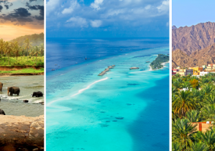 3 in 1: Munich to Maldives, Sri Lanka and Oman in one trip for only €535!