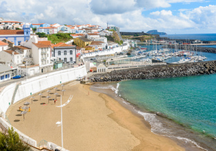Cheap full-service flights from Porto or Lisbon to Azores from only €68!