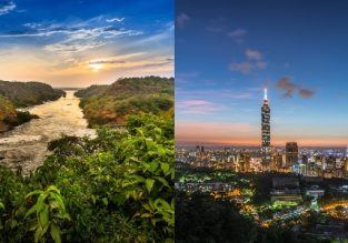 Cheap flights from Germany to Uganda or Taipei from only €367!