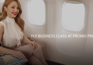 UIA: Get an upgrade to Business Class from just €40 one way!
