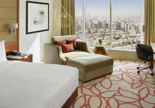 5* Marriott Downtown Abu Dhabi for only €46! (€23/ £20 pp)