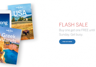 LAST DAY! Lonely Planet SALE! Buy one get one FREE!
