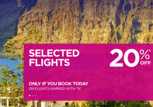Wizz Air Sale: 20% off on selected routes! Open to everyone!