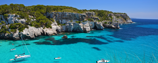 7-night stay in well-rated apartment on Menorca + flights from London for just £147!