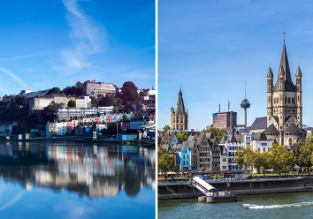 Cheap summer flights between Cologne and Bristol for only €19/ £17!