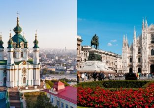 Peak Summer 2019! Kyiv and one of many European cities in one trip from Dubai from only $94!