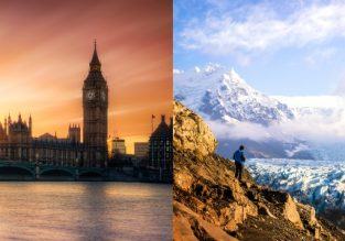 London and Iceland in one trip from Seattle or Vancouver from only $282/C$377!