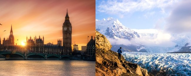 London, Paris, Dublin or Amsterdam and Iceland in one trip from California, Florida, New York, Boston or Chicago from only $295!