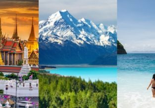 Emirates: Thailand, New Zealand and/or Australia, Bali and Dubai in one trip from UK from £668!