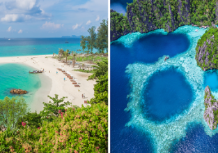 Cheap peak season flights from Italy to Southeast Asia from only €355!