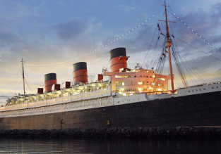 Queen Mary hotel ship in Long Beach, California for only €89! (€44.50/ $50 per person)!