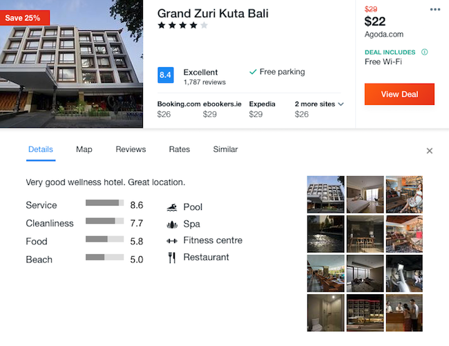 6 nigh stay in top rated 4 hotel in bali flights from for Bali accom deals