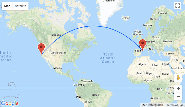 First minute! Cheap non-stop flights from Barcelona to San Francisco ...