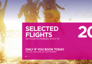 Wizz Air: 20% off on selected routes! Open to everyone!