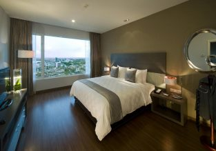 Superior room at 5* Pullman Kuching in Borneo from only €19/ £17 per person!