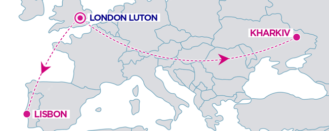 Wizzair announces 2 new routes from London Luton!
