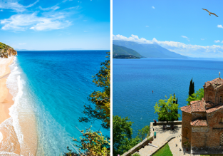 Cheap flights from London to Tirana, Albania returning from Ohrid, North Macedonia for only £17!