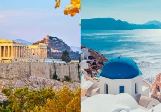 Spring! Crete, Athens and Santorini in one trip from Vienna for only €79!