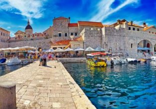 Peak Summer! Cheap flights from Italy to Dubrovnik, Split or Zadar from only €31!