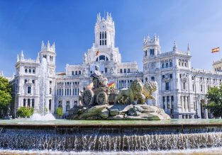 Cheap non-stop flights from Boston to Madrid, Spain for only $330!