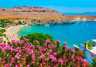 JUNE! Double room at 4* aparthotel in Rhodes island, Greece for just €22/night! (€11/ £9 pp)