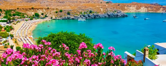 7-night B&B stay at well-rated hotel in Rhodes + flights from London for £125!