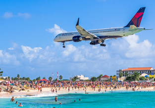 X-mas & high season! Cheap non-stop flights from Paris to St. Martin for only €252!
