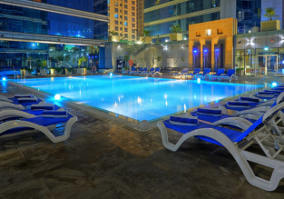7-night B&B stay in top-rated 5* hotel in Dubai + flights from Oslo for €387!