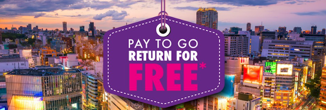 HK Express SALE! Pay to go, return for FREE!