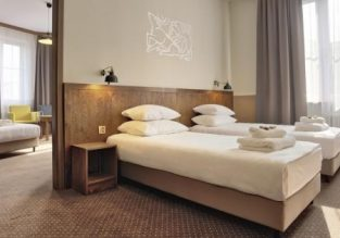 Twin or Double room in top-rated aparthotel in Krakow old town from only €11.5 / £10 per person!