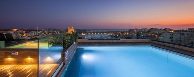 4* Solana Hotel & Spa in Malta for just €26! (€13/ $15 pp)