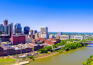 Cheap flights from Dublin to Nashville, Tennessee for only €259!