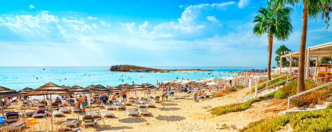 7-night B&B stay at well-rated hotel in Ayia Napa, Cyprus + flights from London for just £168!