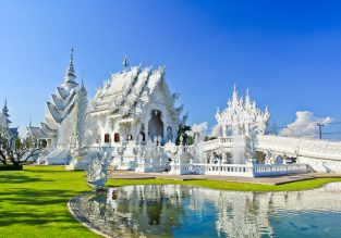 Visit the White Temple! 4-night stay at well-rated hotel in Chiang Rai + flights from Hong Kong for just $118!