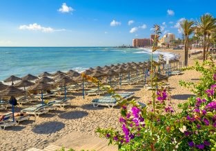 5-night B&B stay nights at well-rated 4* hotel in Costa del Sol + flights from London for just £124!