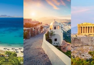 Summer trip to Greece! Mykonos, Athens, Santorini and Halkidiki in one trip from Vienna from €97!