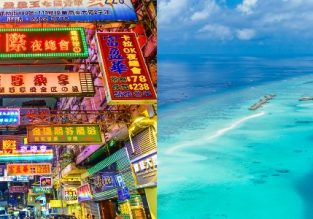 SUMMER! Hong Kong and stunning Maldives in one trip from Los Angeles from $599!