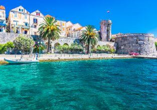 MAY! 7 nights at very well-rated seafront aparthotel on Korcula island, Croatia + cheap flights from London for just £152!