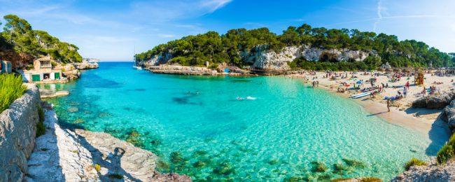 Peak summer! Cheap flights from German cities to Mallorca from only €28!
