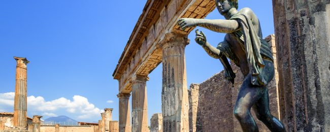 4 nights in well-rated hotel in the archaeological site of Pompei + car hire & cheap flights from Zurich for just €123!