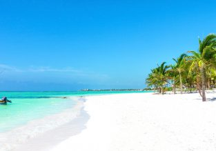 High season! Cheap non-stop flights from Houston to Cancun, Mexico for only $161!